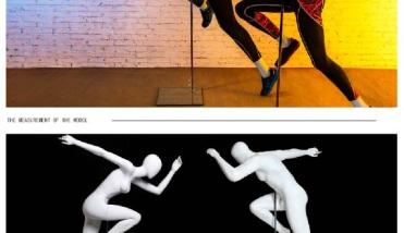 Sport Running - Dames en Heren Etalagepop - Designing Haaker