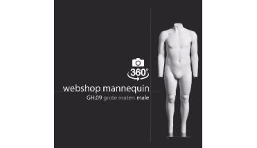 Webshop Mannequin XL Male