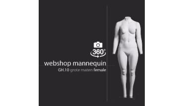 Webshop Mannequin XL Female - Webshop Dames etalagepop