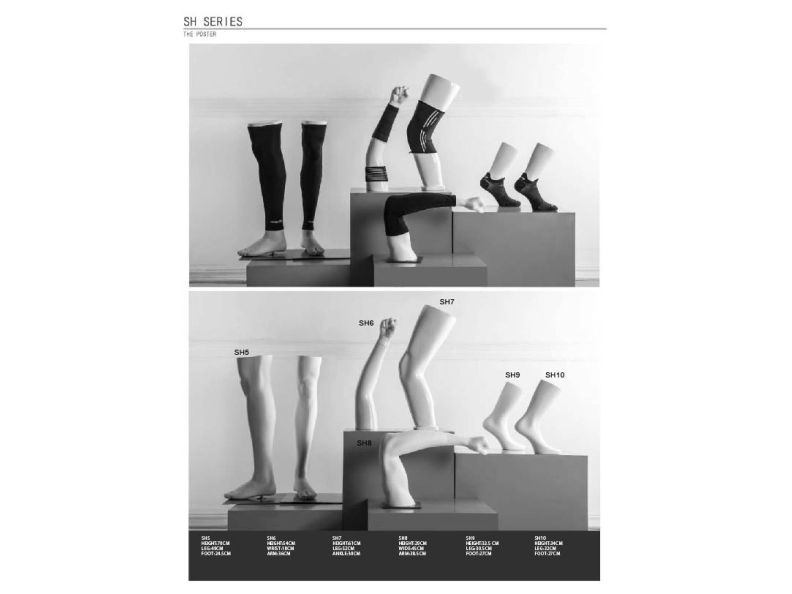 Sport Bustes en Accessoires - legs and arms - Designing Haaker