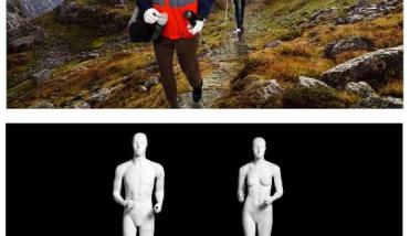 Sport Hiking - Dames en Heren Etalagepop - Designing Haaker