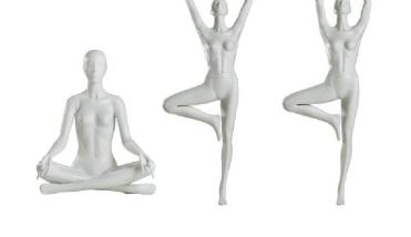 Sport Yoga - Dames Etalagepop - Designing Haaker