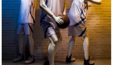 Sport Basketball - Heren Etalagepop - Designing Haaker