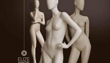Elize Collection - Dames etalagepop