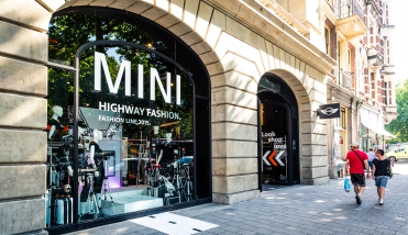 Mini etalage Fashion week 2015