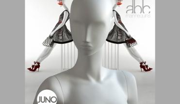 Juno etalagepop - dames etalagepop - Designing Haaker