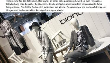 Bianca mooiste stand in Berlijn