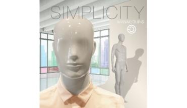 Simplicity male - heren etalagepop