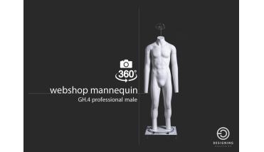 Webshop mannequin Pro Male - heren webshop etalagepop
