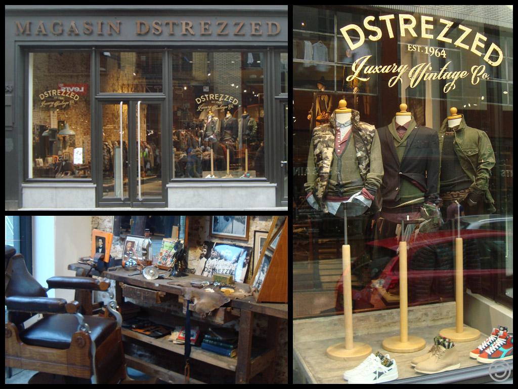 designing jeans Dstrezzed Maastricht